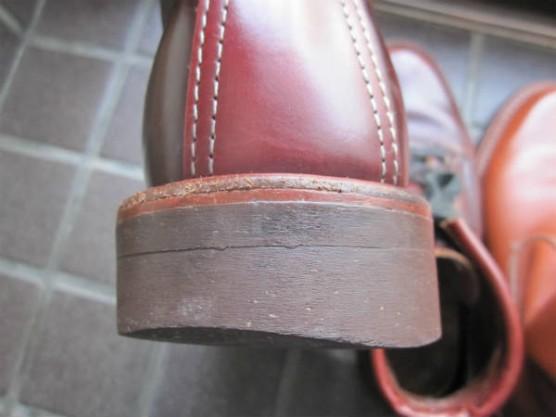 チペワ 10インチヴィンテージウェリントンブーツ 91091(ラセット)エイジング1年 (11)